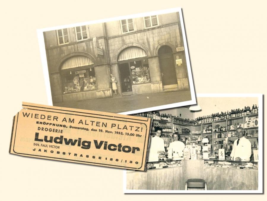 Kräuterdrogerie Victor 1934-1972