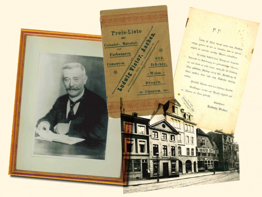 Kräuterdrogerie Victor 1892-1934